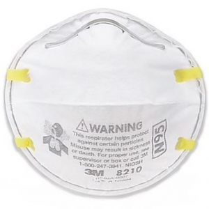 particulate respiratory mask 3M N95 8210