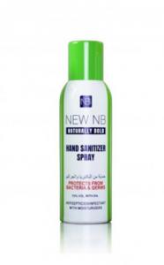 new nb naturally bold hand sanitizer spray 200ml